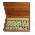 Domine bakelit 1/28 bambus kutija