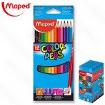 Drvene boje Maped 1/12 Color'Peps No.183212