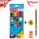 Drvene boje Maped 1/12 Color'Peps Gratis box No.832023