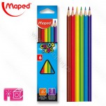 Drvene boje Maped 1/6 Color'Peps No.832002