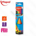 Drvene boje Maped 1/12 Color'Peps tringl box No.183213