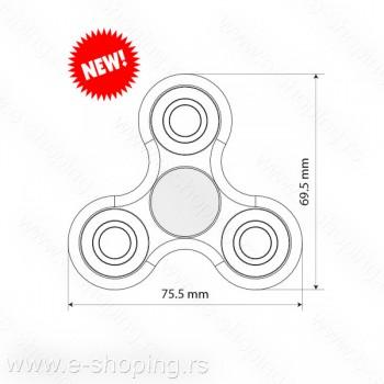 Fidget spinner trokraki Promo crni No.32.158.10