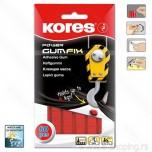 Guma samolepiva Kores GumFix Power crvena 35g 60kom 31604