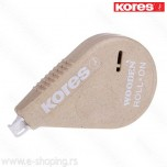 Korektor u traci Kores Wood 4,2mm x 15m Art. 85846