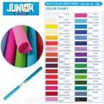 Krep papir Junior Jolly Color 200x50cm beli Art. 135510