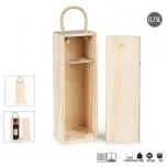 Kutija za flašu Bordo drvena Art. 41.036.71