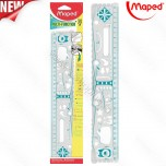 Lenjir Maped Geo'Notes 30cm No.250310