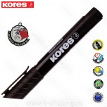Marker Kores permanent XP1 crni obli vrh Art. 29030