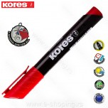 Marker Kores permanent XP1 crveni obli vrh  Art. 20937