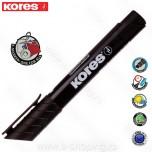 Marker Kores permanent XP2 crni kosi vrh Art. 29050