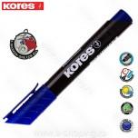 Marker Kores permanent XP2 plavi kosi vrh Art. 20953