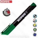 Marker Kores permanent XP2 zeleni kosi vrh Art. 20955