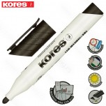 Marker Kores whiteboard XW1 crni obli vrh Art. 20830