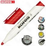 Marker Kores whiteboard XW1 crveni obli vrh Art. 20837