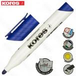 Marker Kores whiteboard XW1 plavi obli vrh Art. 20833