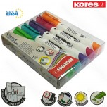 Markeri Kores whiteboard XW1 set 1/6 obli vrh Art. 20802