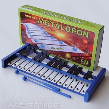 Metalofon školski veliki dvoredni - SV