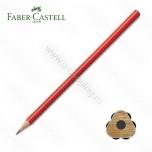 Olovka grafitna Faber Castell grip HB crvena