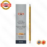Olovka grafitna Koh-I-Noor crveno-plava No.3433