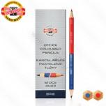 Olovka grafitna Koh-I-Noor crveno-plava jumbo No.3423