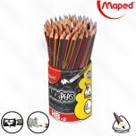 Olovka grafitna Maped sa gumicom HB 1/72 No.851759