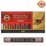 Pasteli suvi Koh-I-Noor Toison D'or 1/12 braon tonovi Art. 8512 BR