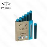 Patrone Parker Quink mini Blue 1/6