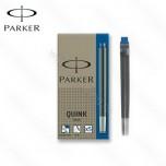 Patrone Parker Quink Blue 1/5