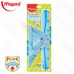 Set lenjira Maped Flex 30cm 1/4 No.244304