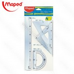 Set lenjira Maped Start 30cm 1/4 No.242830