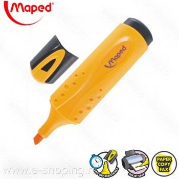 Signir - tekst marker Maped Peps oranž No. 742535