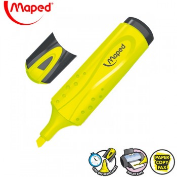 Signir - tekst marker Maped Peps žuti No. 742534
