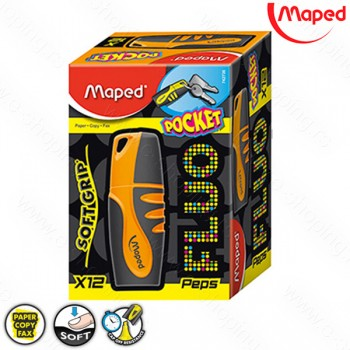 Signir - tekst marker Maped mini Peps oranž No. 742735