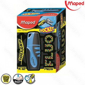 Signir - tekst marker Maped mini Peps plavi No. 742730