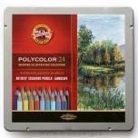 Umetničke drvene boje Koh-I-Noor Polycolor Landscape 1/24 Art. 3824
