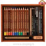 Umetnički art set Koh-I-Noor Trio Aquarelle Drawing set Art. 8897