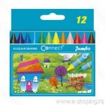 Voštane boje Connect jumbo 1/12 Art. 105546
