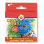 Voštane boje Koh-I-Noor Trio 8,2mm 1/12 Art. 8272