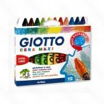 Voštane boje Fila Giotto Cera maxi 1/12 Art. 291200