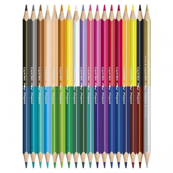 Drvene boje Maped duo Color'Peps 1/18-36 Art.829601