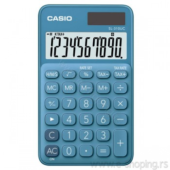 Kalkulator - digitron džepni Casio SL-310UC plavi