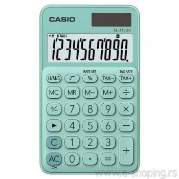 Kalkulator - digitron džepni Casio SL-310UC zeleni