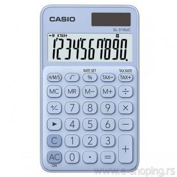 Kalkulator - digitron džepni Casio SL-310UC svetlo plavi