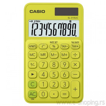 Kalkulator - digitron džepni Casio SL-310UC žuti