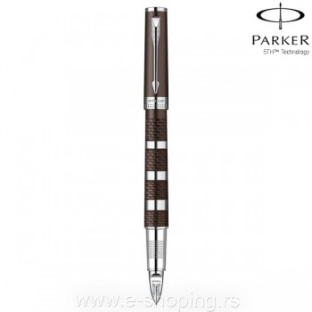 Olovka Parker 5th generation Ingenuity Brown Rubber & Metal CT Art. 959180