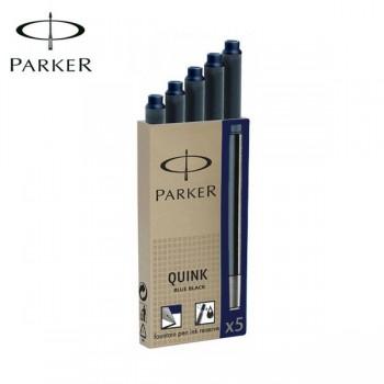 Patrone Parker Quink Blue Black 1/5
