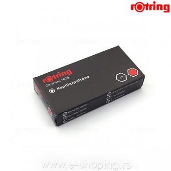 Patrone za rapidograf Rotring 1/3 crvene Art. R0215710