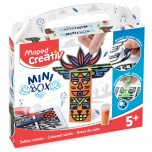 Set Maped Creativ Coloured sands totem mini box Art. 907014