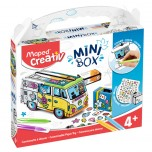 Set Maped Creativ Customizable paper toy combi mini box Art. 907017
