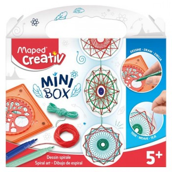 Set Maped Creativ Spiral art mini box Art. 907016
